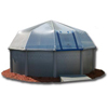 Pool Sun Dome Cover 12`x28` Rectangle 18 Panel Kit