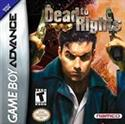Dead To Rights Gameboy Advanced Gba