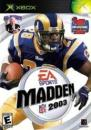 Madden 2003 Football Xbox from: USD$2.45